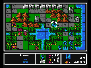 Screenshot Thumbnail / Media File 1 for Famicom Wars (Japan) (Rev 0B) [En by Aka v1.11]